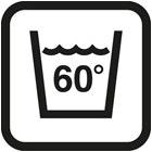 Wasbaar op 60°C
