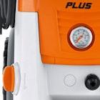 Pressure gauge and pressure / flow control