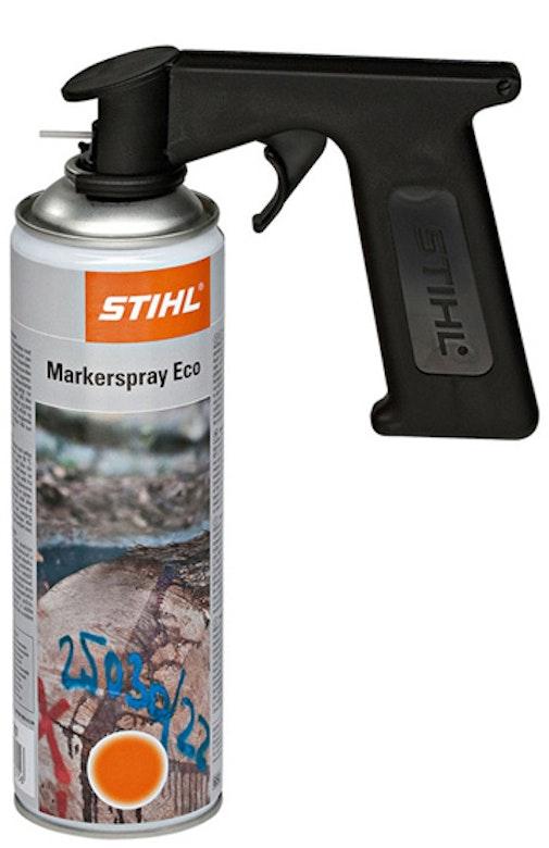 Pistol grip for ECO marker spray