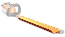 Catcher plate for cutter blades