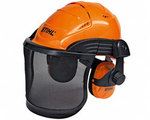 ADVANCE helmet set, metal mesh