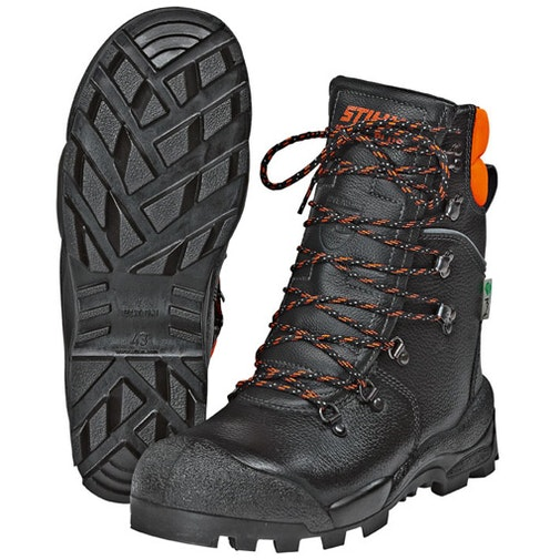 SPECIAL PLUS chainsaw leather boots