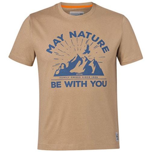 """T-Shirt """"MAY NATURE"""", Sand"""