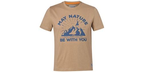 """Тениска """"MAY NATURE"""", пясъчножълта"""