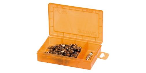 Opbergbox voor zaagkettingen