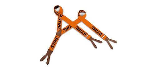 Тиранти, за закопчаване, оранжеви