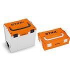 Akku-Box, für AP oder AR und Ladegerät