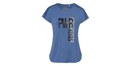 Funktionsshirt PWR, Damen, blau