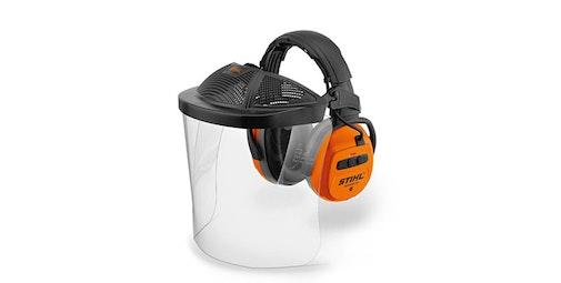 Комплект за защита на лицето и слуха DYNAMIC BT-PC