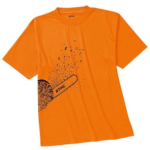 T-shirt DYNAMIC Mag Cool, orange high-viz