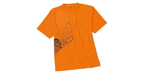 Funktions- T-Shirt DYNAMIC Mag Cool, warnorange