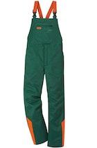 Salopette STANDARD, verde/arancio segnaletico, Taglia 48