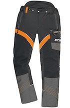 Pantalon ADVANCE X-FLEX noir, taille XL, tour de taille 104-114