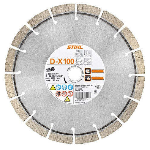 Diamant-Trennschleifscheibe, Universell, (TSA 230)