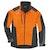 ADVANCE X-SHELL jakke, herre, oransje/svart