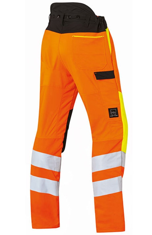 Protect MS cut protection and high-visibility trousers