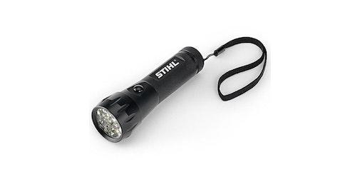 LED-Taschenlampe, schwarz