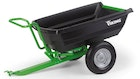 PICK UP 300 Tilting trailer for VIKING lawn tractors