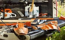 Παρελκόμενα, εργαλεία, καύσιμα