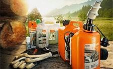 Carburant, huiles et accessoires